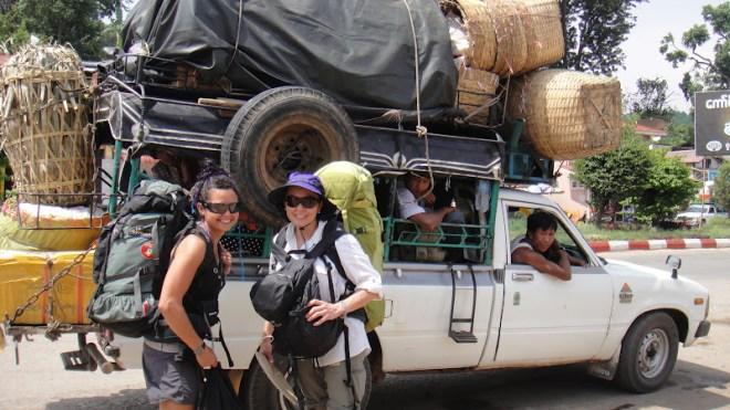 Like mother like daughter -- Somewhere in Myanmar --Karina Noriega