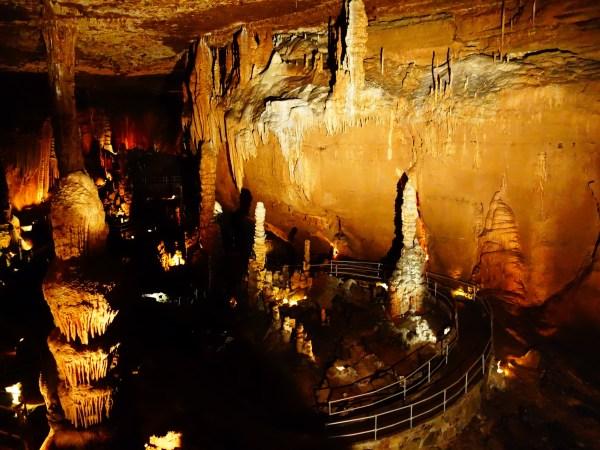 Cathedral Room, Blanchard Springs Cavern, Arkansas - Karina Noriega