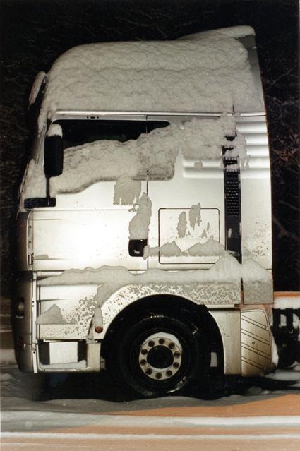 Karin-Mueller-schneelastwagen
