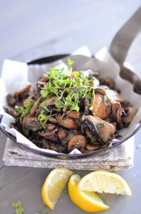 Postcard Mushrooms with Fresh Herbs 2