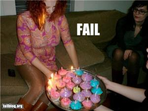 Photo of fail cake