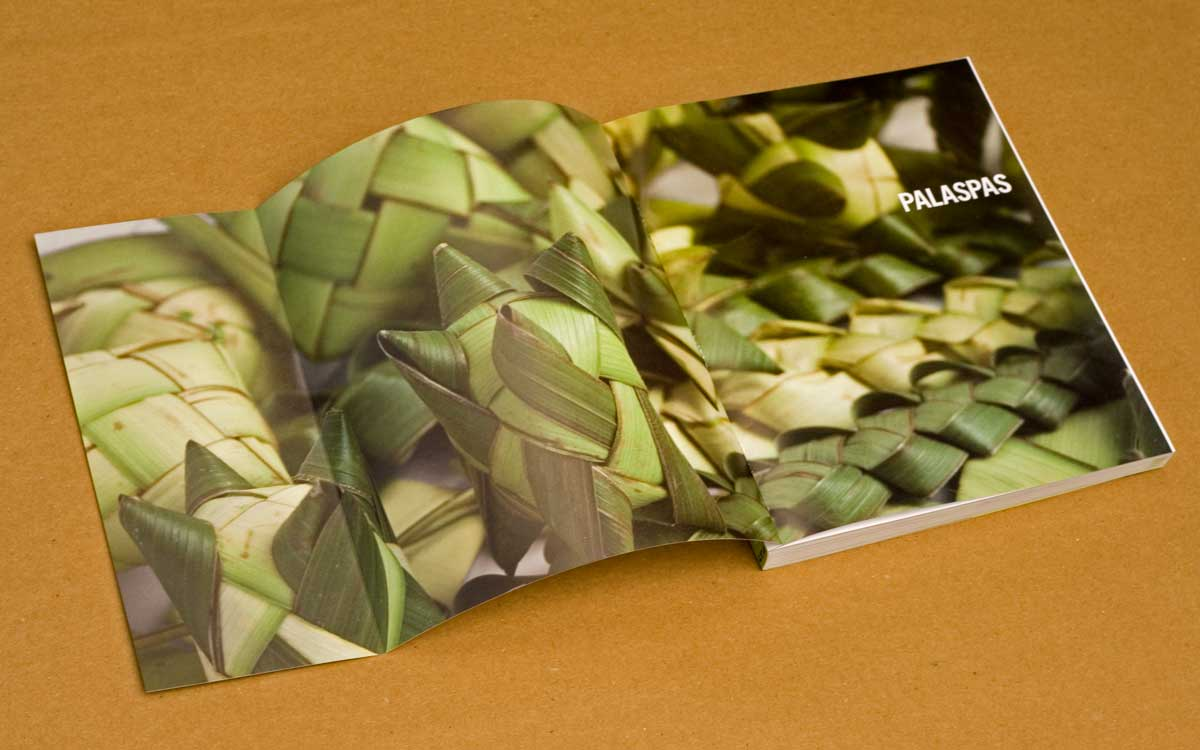 palm leaf weaving instructions