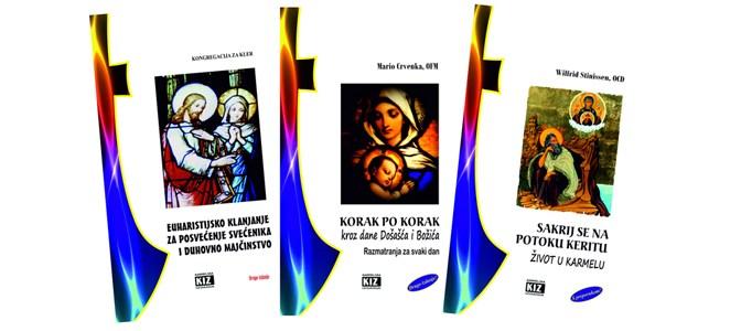 """Tri nove knjige """"Karmelskih izdanja"""""""