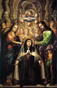 9 0 Vision of St Theresa Avila intercession of st joseph