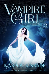 Vampire Girl Book Cover No Number High Contrast