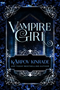 Vampire Girl Book Cover Second Edition 1 High Contrast Final