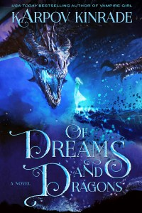 Of Dreams and Dragons Book Cover High Contrast