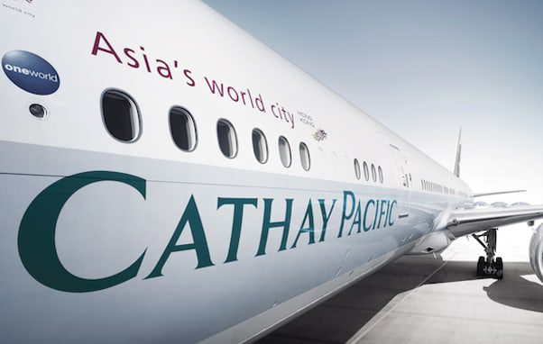 Cathay PAcific body