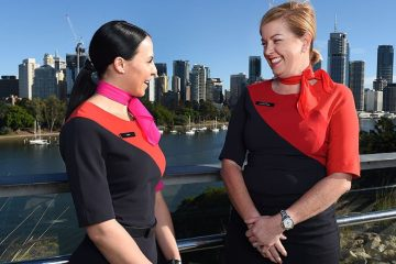 Qantas flight attendants