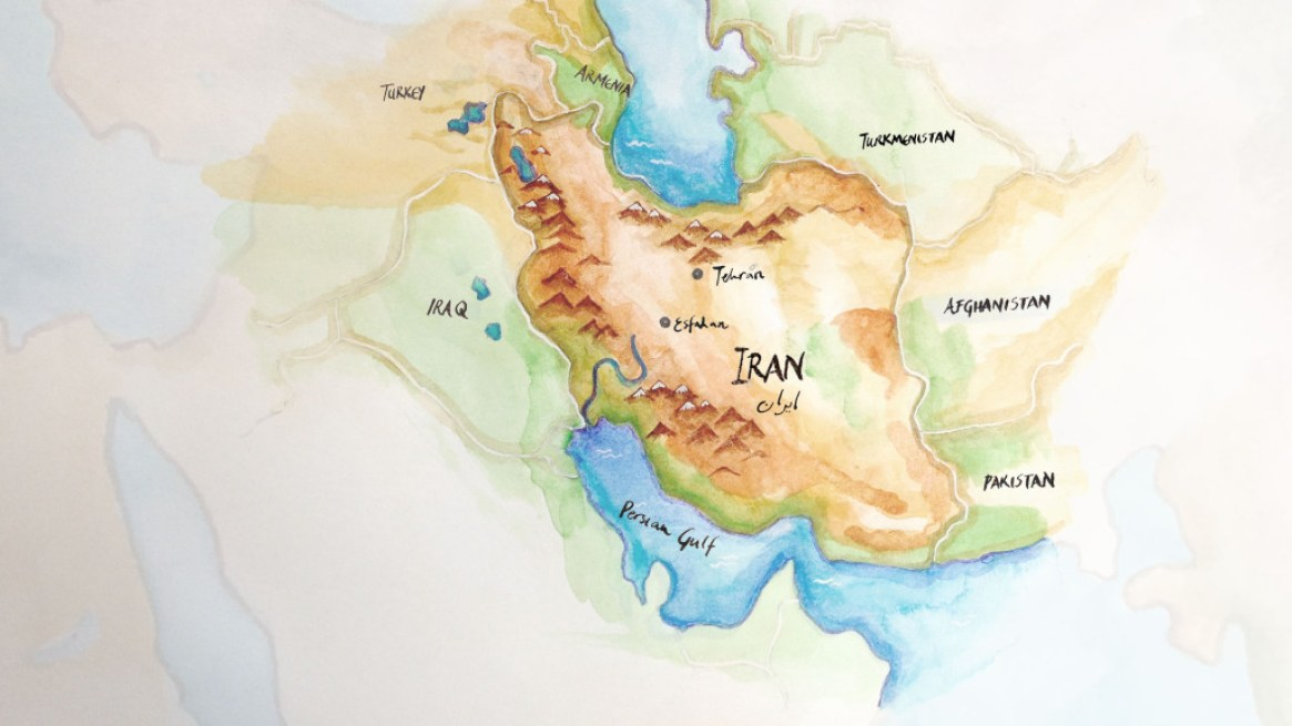 Map 1 Zoom Iran detail HD 2