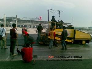 Pengaspalan Terminal 3 Bandara Soekarno Hatta Jasa aspal hotmix jasa jalan raya jalan tol jasa pengaspalan jakarta tangerang bekasi depok karawang purwakarta cibubur cielungsi bogor