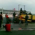 Pengaspalan Terminal 3 Bandara Soekarno Hatta Jakarta