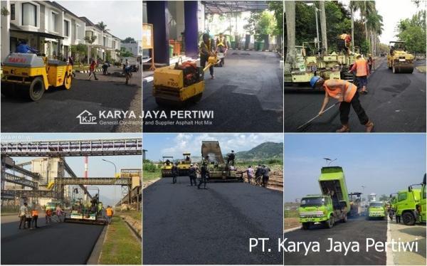 Jasa Pengaspalan Kontraktor Jalan, Jasa Aspal Hotmix Jakarta bogor depok bekasi tangerang bandung serang cilegon cibubur cileungsi