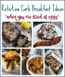 Small Of Low Carb Breakfast Without Eggs