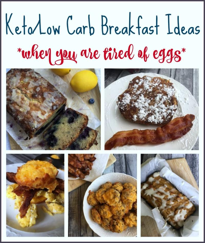 Large Of Low Carb Breakfast Without Eggs