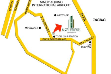 map | kel residences paranaque