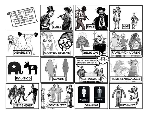 15 Spaces Comic