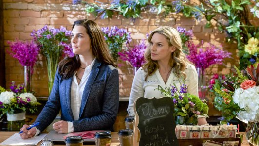 Photo: Kate Drummond and Brooke Shields PHOTO CREDIT: Crown Media