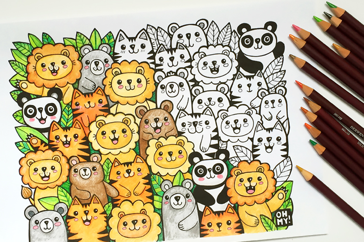 Kate Hadfield Designs: Lions and Tigers and Bears