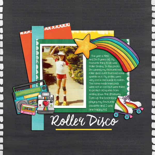 "Kate Hadfield Designs Creative Team ""Child of the 80s"" 