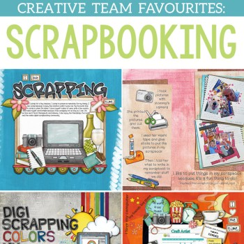 Scrapbooking Favourites from the team!