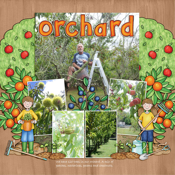 "Kate Hadfield Designs Creative Team ""Farmer's Garden"" 