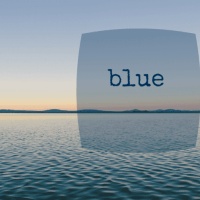 five minute friday :: blue {plus a special video message from the fmf retreat planning committee!}