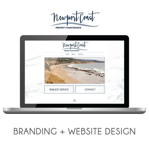 Newport Coast Property Management Branding and Website Design