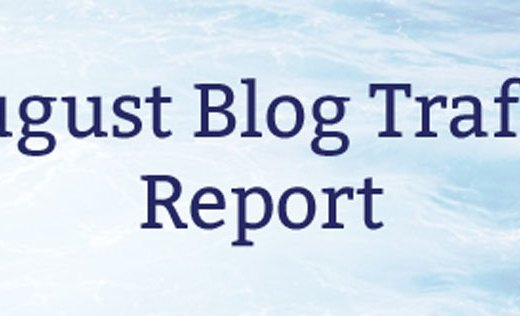 August Blog Traffic Report