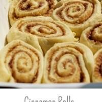 Cinnamon Rolls nach original amerikanischem Rezept