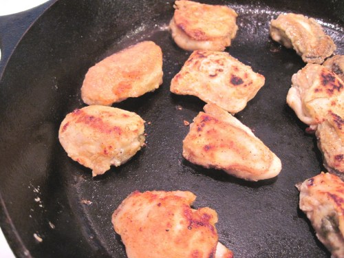 Medium Of Pan Fried Oysters