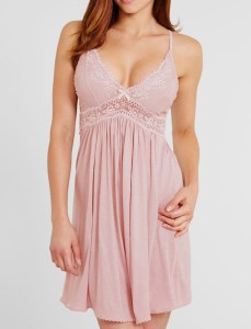 Colette Chemise, Pink Clay