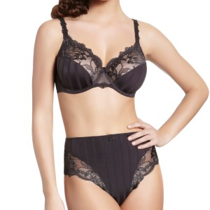 Amour Full Cup Bra, Athracite