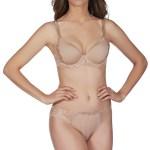 Amour 3D PLunge Bra, Nude