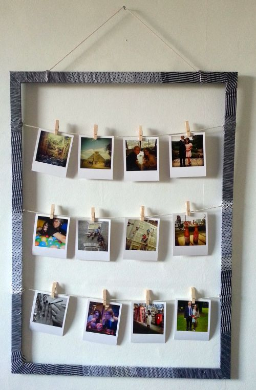 Medium Of Diy Picture Frame