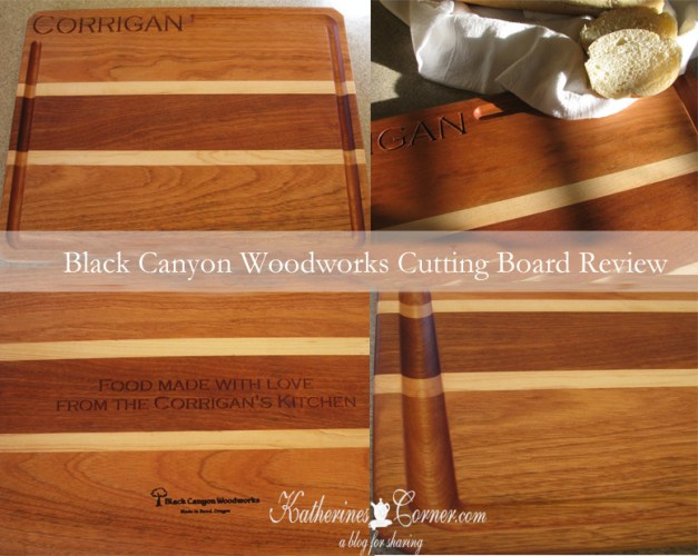 Black Canyon Woodworks Cutting Board Review Katherines Corner