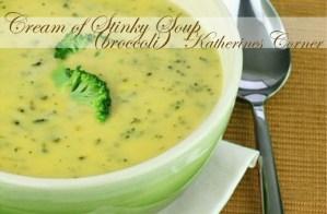Recipe Cream Of Stinky Soup