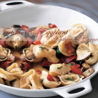 Meatless Monday Recipe, Tortellini and Eggplant