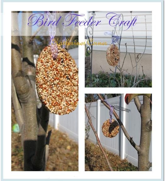 bird feeder craft katherines corner