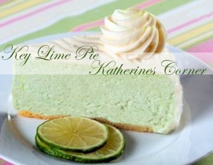 Meatless Monday, Key Lime Pie Recipe