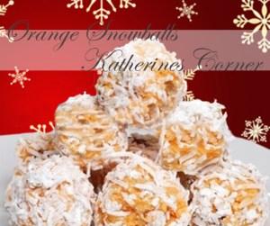 Seasons Eatings, Orange Snowballs