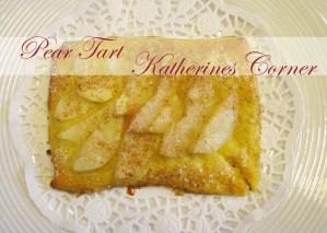 Mini Pear Tarts
