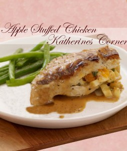 Apple Stuffed Chicken