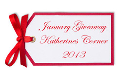 January Giveaway for 2013