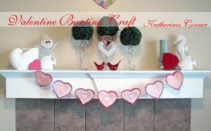 Valentine Banner Bunting