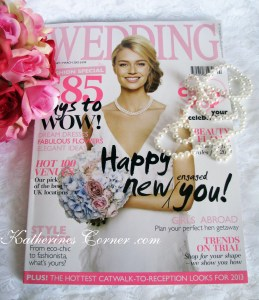 keepsakes by katherine in wedding magazine