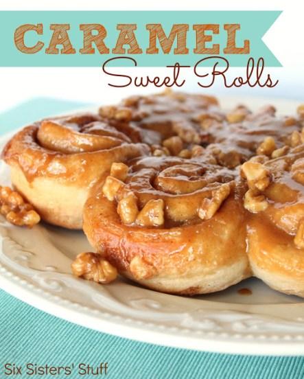 Caramel Sweet Rolls