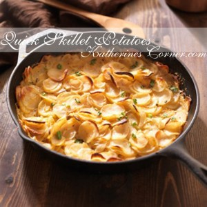 Quick Skillet Potatoes