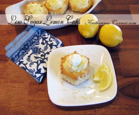low sugar lemon cups recipe  katherines corner