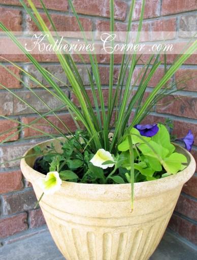 porch container garden katherines corner